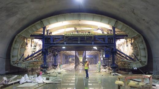 ایستگاه O3 متروی تهران – در حال اجرا