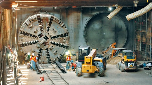 مرحله سوم تونل مکانیزه (TBM) جنوب خط ۳ متروی تهران