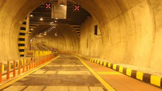 پروژه تونل امیرکبیر