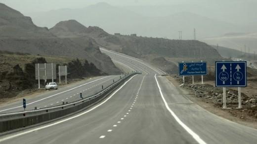 qazvin-rasht-freeway