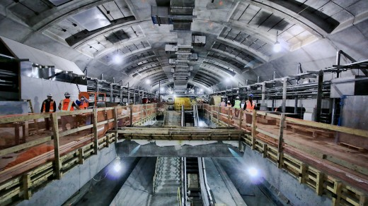 Subway-P2 - ایستگاه P2 متروی کرج – در حال اجرا